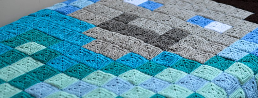 Crochet Minecraft Blanket Pattern The Loopy Stitch