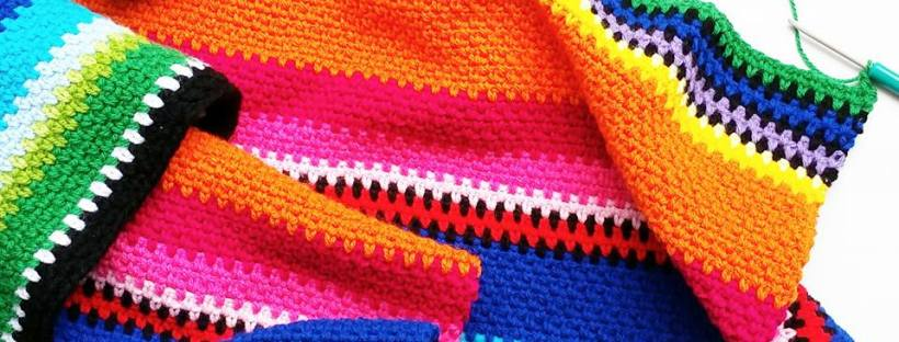 The Loopy Stitch Mexican Inspired Crochet Blanket - The Loopy Stitch
