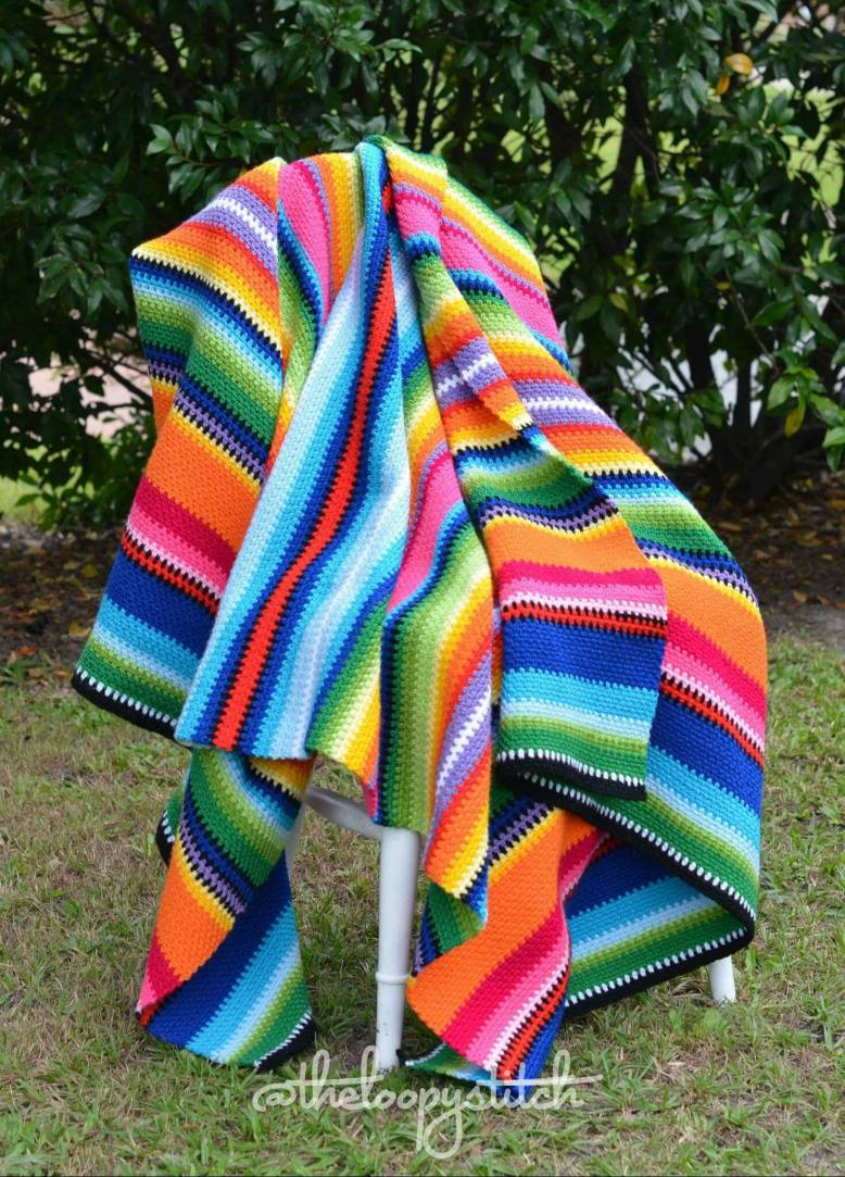 Mexican Blanket Pattern The Loopy Stitch Mexic...