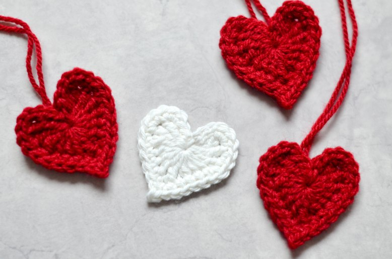 Easy Crochet Hearts The Loopy Stitch