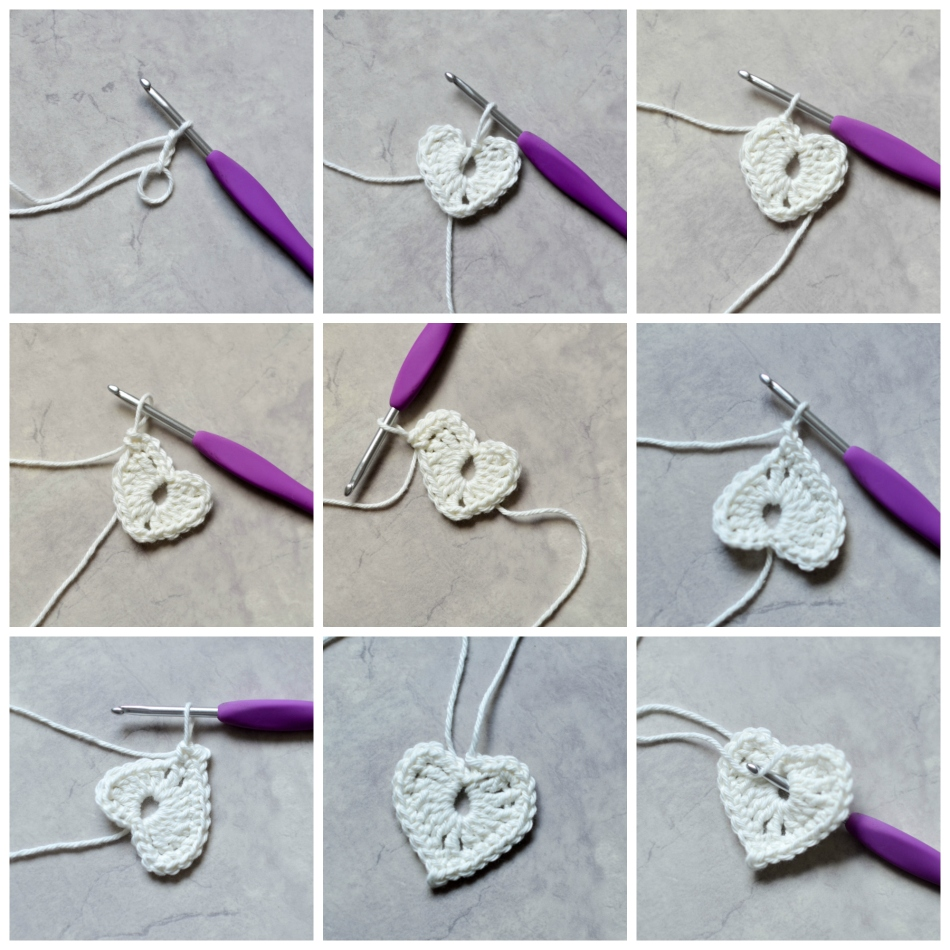 Easy Heart Step by Step