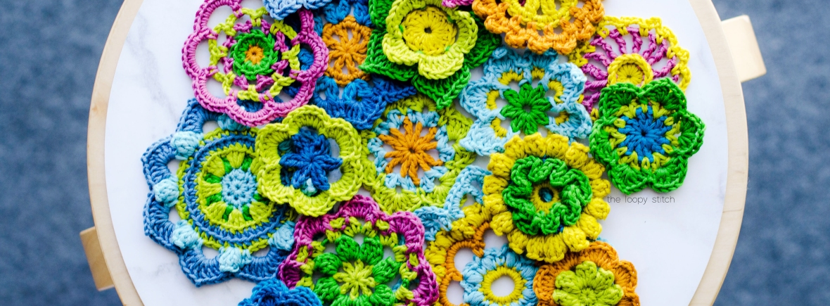365 Days Of Crochet Flowers The Loopy Stitch