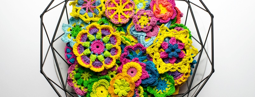 The Crochet Hook Up Taking Over 365 Days Of Crochet Flowers The